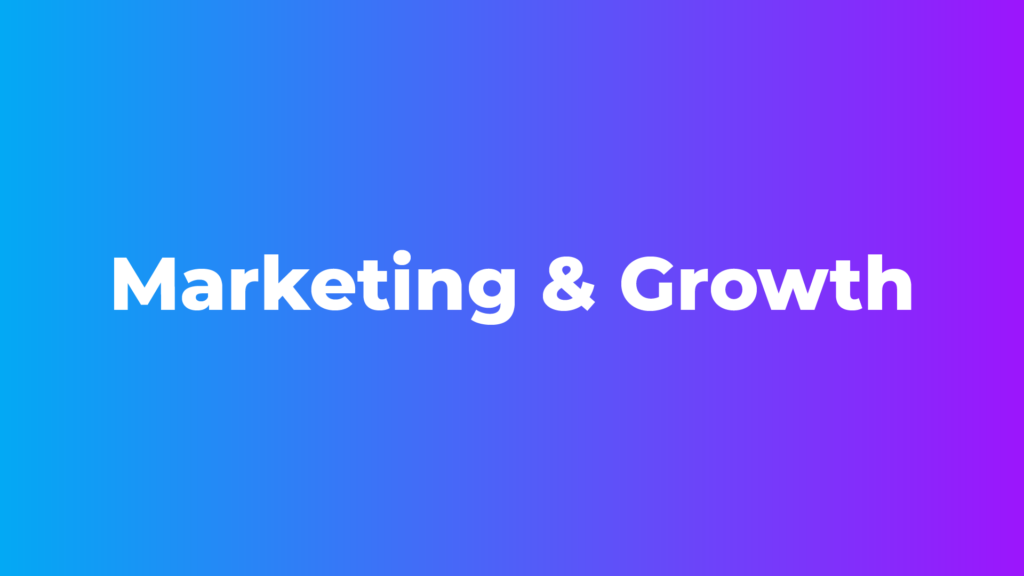 Marketing & Growth - Free Blogging Course