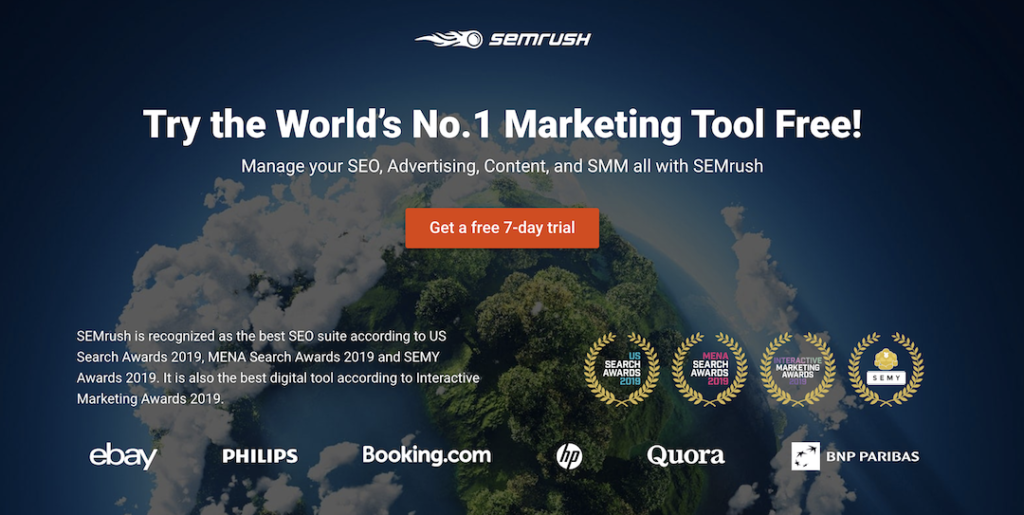 SEMRush Free Trial, How To Make Money Blogging for Beginners