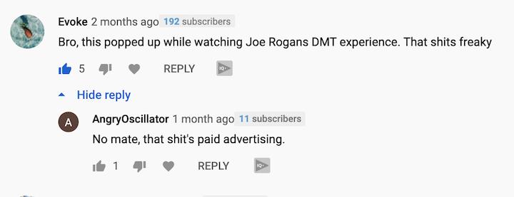 New Mark YouTube Ads