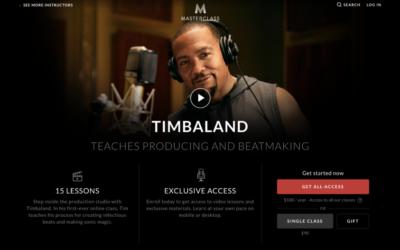 Timbaland Masterclass Review: Beat Making & Producing