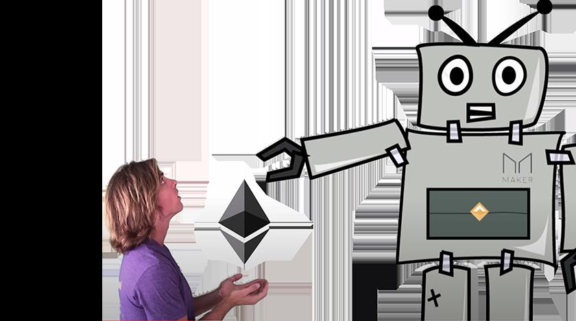 Dai Robot Blockchain Video