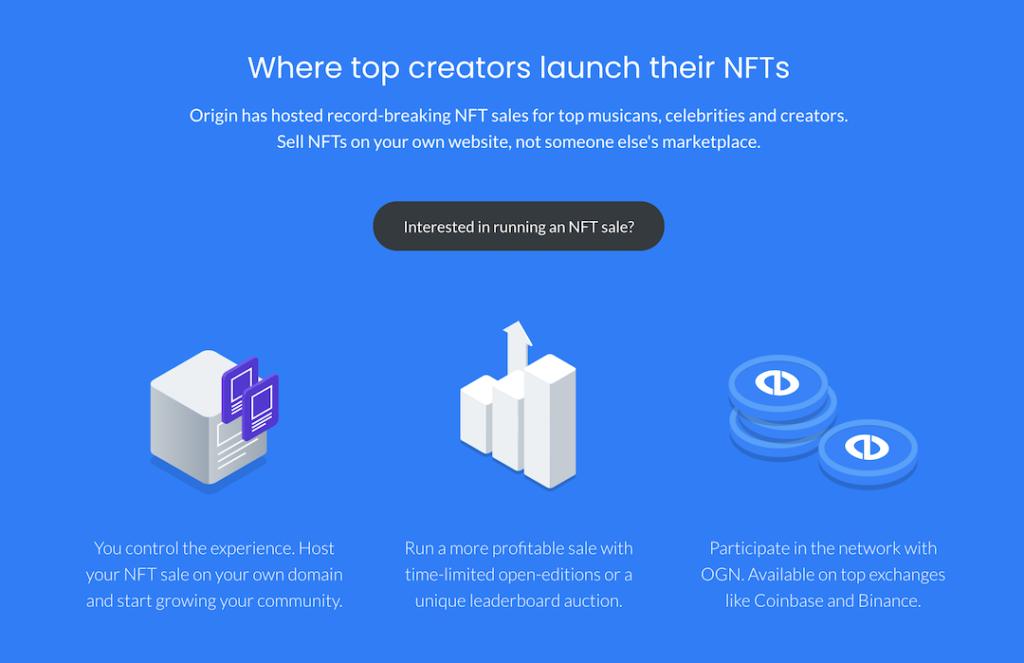 Origin Protocol NFT Launchpad