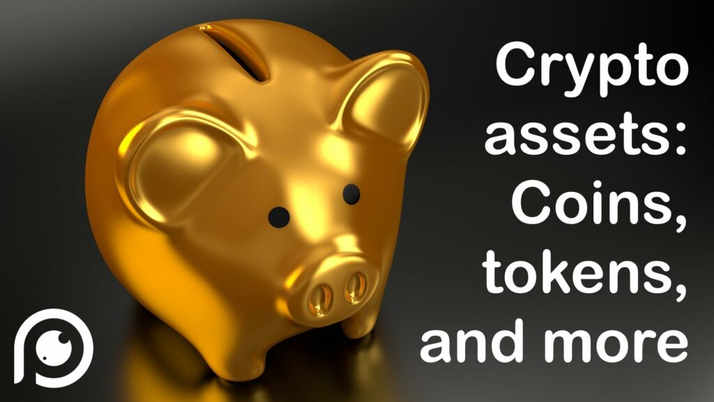 Crypto assets - piggy bank