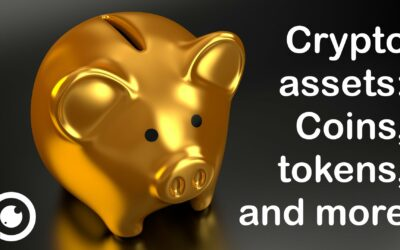 What are the different types of crypto assets?